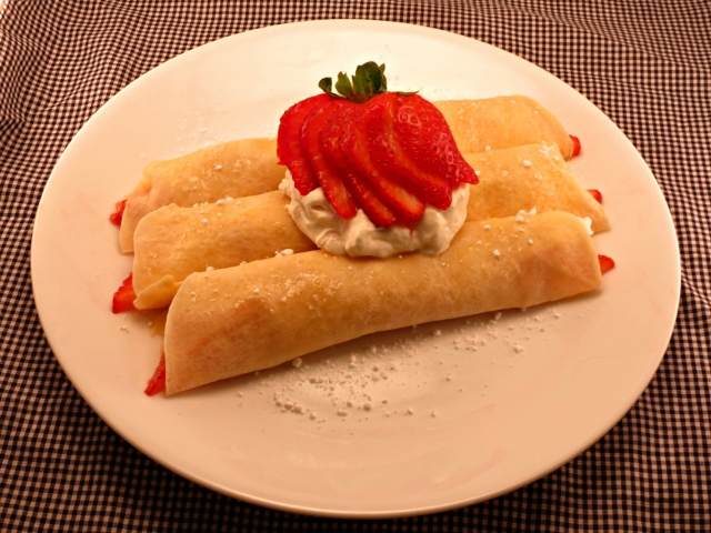 Really Vanilla Crepes